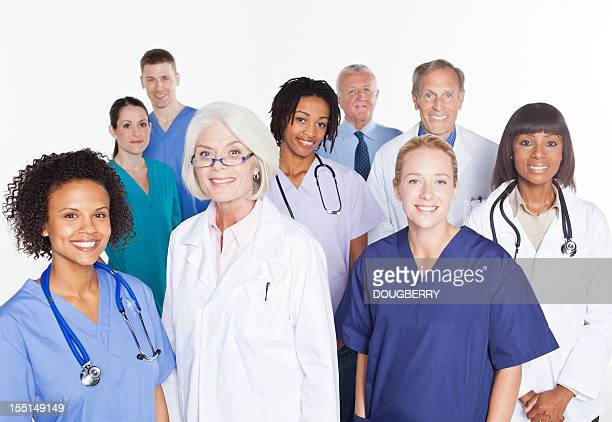 Mixed race medical group
