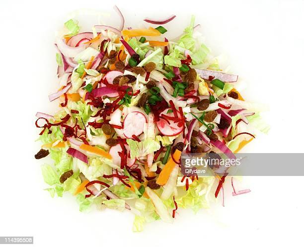 mixed salad - pared stock pictures, royalty-free photos & images