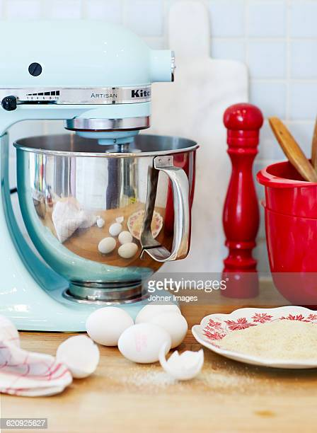 Mixer in kitchen