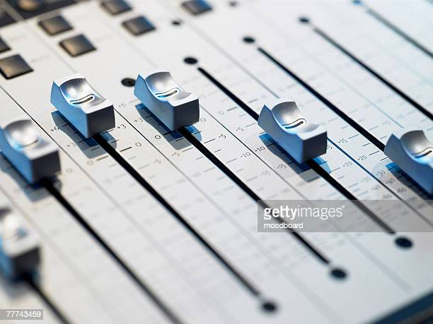 mixing board - equalizer stock pictures, royalty-free photos & images