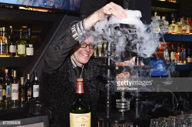 Mixologist Adam Seger poses as Tuck Hospitality Group, restaurant division of iPic Entertainment, presents the NYC premiere of James Beard...