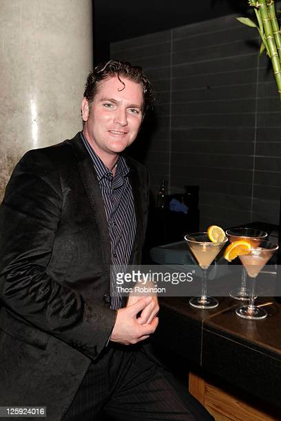 Mixologist Drew Peterson attends New York Magazine Hosts Summer Of SVEDKA Mixology Contest at Above Allen on September 21 2011 in New York City