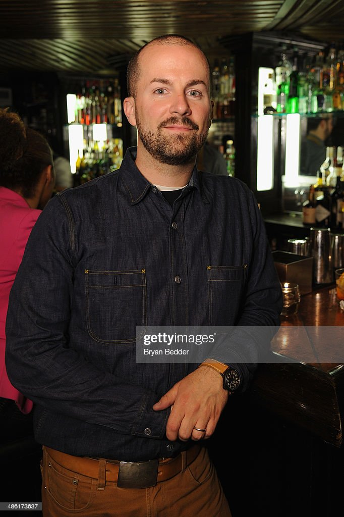 """Mixologist Jim Meehan at the """"Chef"""" world premiere exclusively for American Express card members on April 22, 2014 in New York City."""