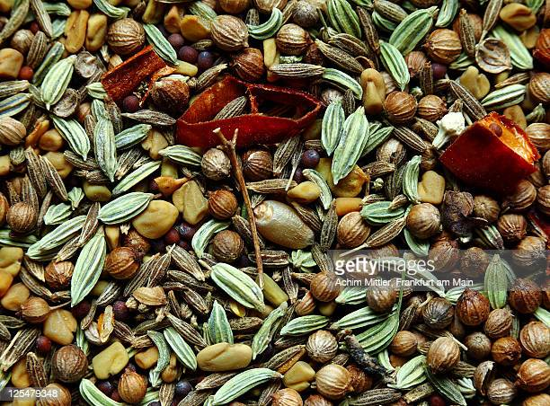 Mixture of seeds for indian curry bhuna gosht