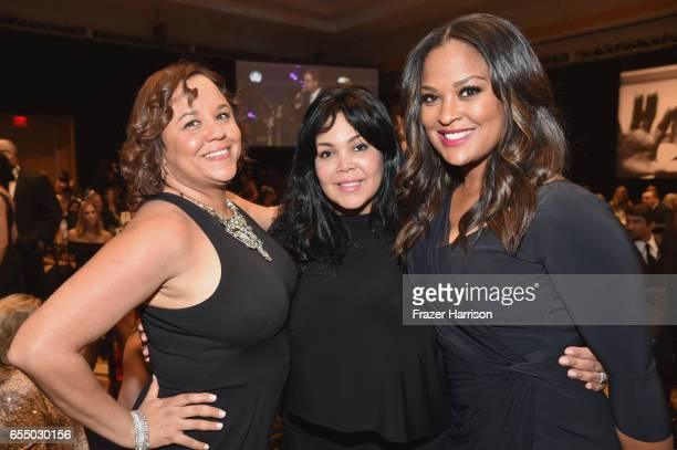 Miya Ali, Khaliah Ali and former professional boxer Laila Ali attend Muhammad Ali's Celebrity Fight Night XXIII at the JW Marriott Desert Ridge...