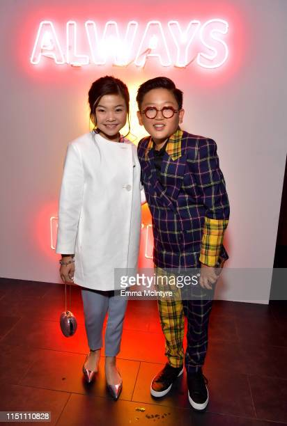 Miya Cech and Emerson Min attend the afterparty for the world premiere of Netflix's 'Always Be My Maybe' at STK on May 22, 2019 in Westwood,...