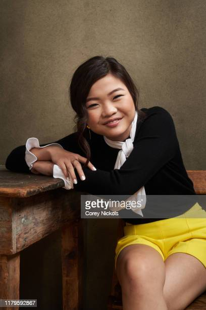 "Miya Cech of ""Are You Afraid Of The Dark"" poses for a portrait during 2019 New York Comic Con at Jacob K. Javits Convention Center in New York, NY on..."