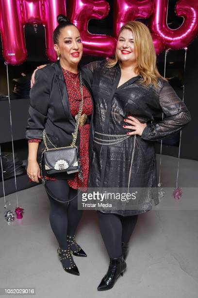 Miyabi Kawai and Alina during the Sheego Fashion Style Tour on October 11 2018 in Hamburg Germany