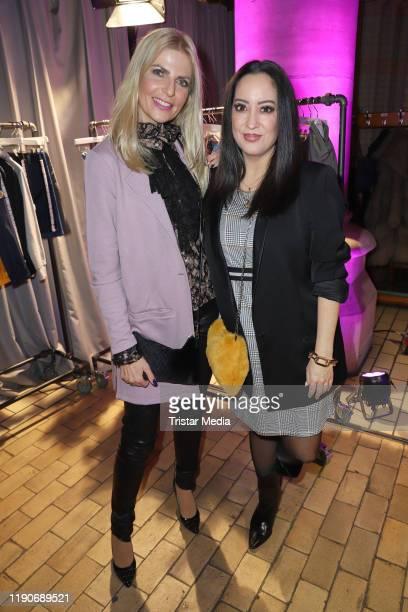 Miyabi Kawai and Tanja Buelter attend the Ernsting's Family Fashion Dinner on November 26, 2019 in Hamburg, Germany.