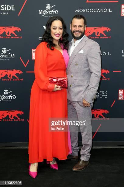 Miyabi Kawai andManuel Cortez attend the New Faces Award Film at Umspannwerk Alexanderplatz on May 2 2019 in Berlin Germany