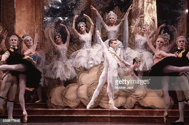 Miyako Yoshida and Michael O'Hare in the Birmingham Royal Ballet production of The Sleeping Beauty