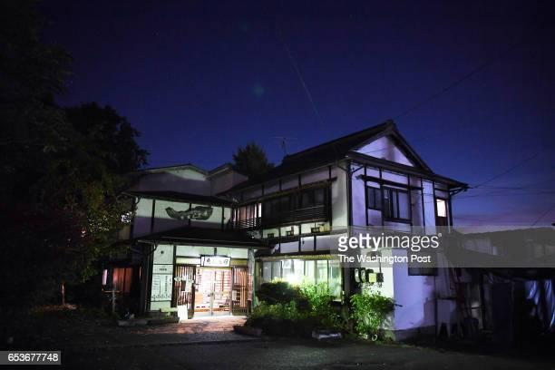 Miyasaka Kazuhisa runs this inn next to his dojo where he teaches Kyudo archery as it is seen on Sunday October 30 2016 in Yamanouchi Japan