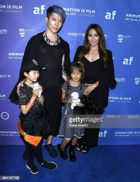 Miyavi arrives at the Premiere Of Gkids' 'The Breadwinner' at TCL Chinese 6 Theatres on October 20 2017 in Hollywood California