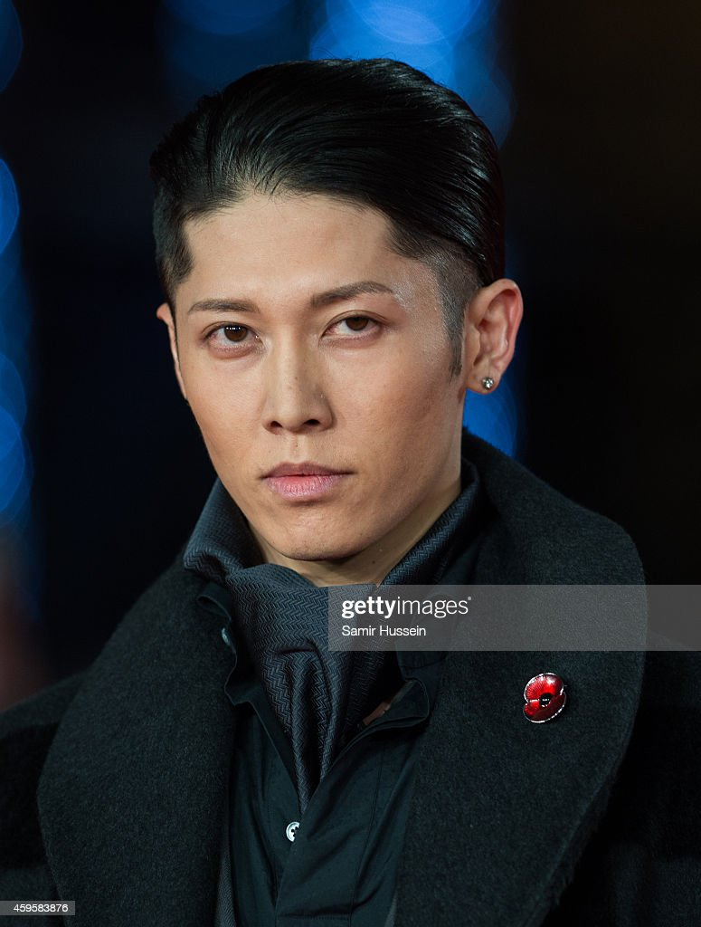 Miyavi Attends The Uk Premiere Of Unbroken At Odeon Leicester
