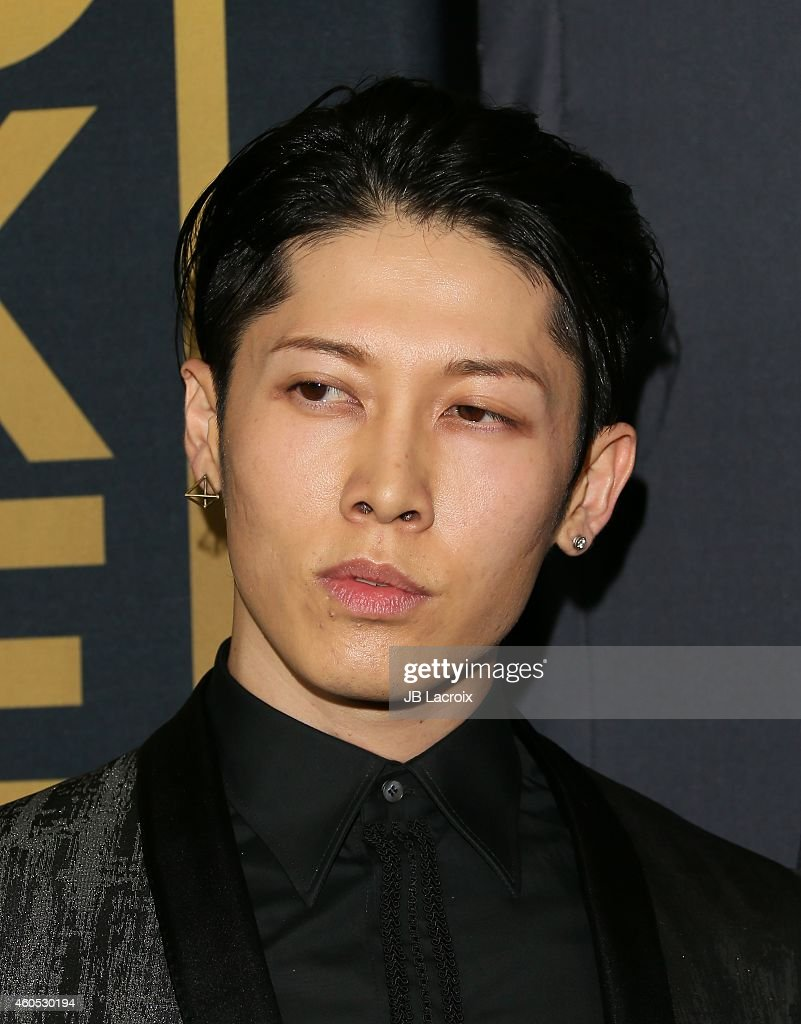 Miyavi Attends The Unbroken Los Angeles Premiere Held At The Tcl