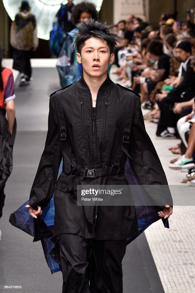 Miyavi Lee Ishihara Walks The Runway During The Y 3 Menswear News
