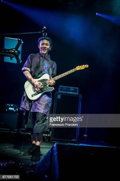 Miyavi Performs at Alcatraz in Milan on May 2 2017 in Milan Italy