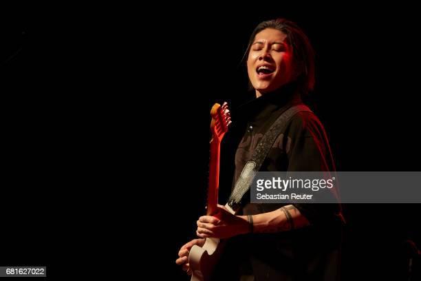 Miyavi performs at Huxleys Neue Welt on May 10 2017 in Berlin Germany