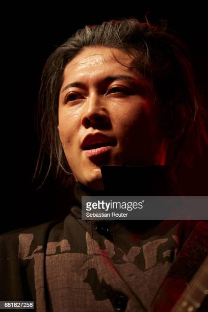 Miyavi performs at Huxleys Neue Welt on May 10 2017 in Berlin Germany
