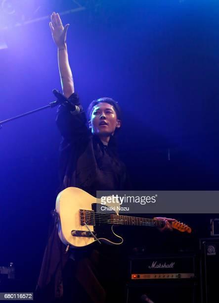 Miyavi performs at Islington Academy on May 7 2017 in London England