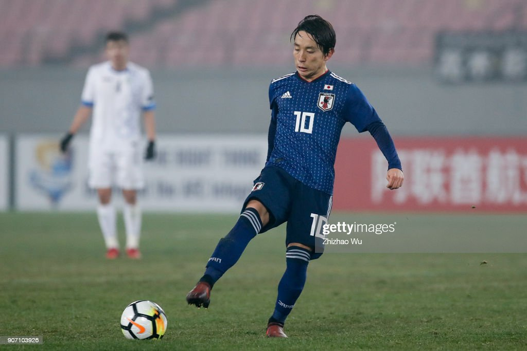 AFC U23 Championship Quarter-final: Japan v Uzbekistan : News Photo
