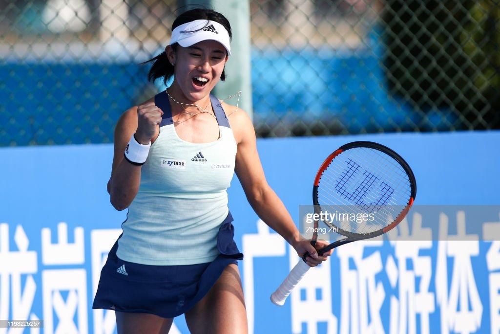 WTA Shenzhen Open 2020 - Day 4 : ニュース写真