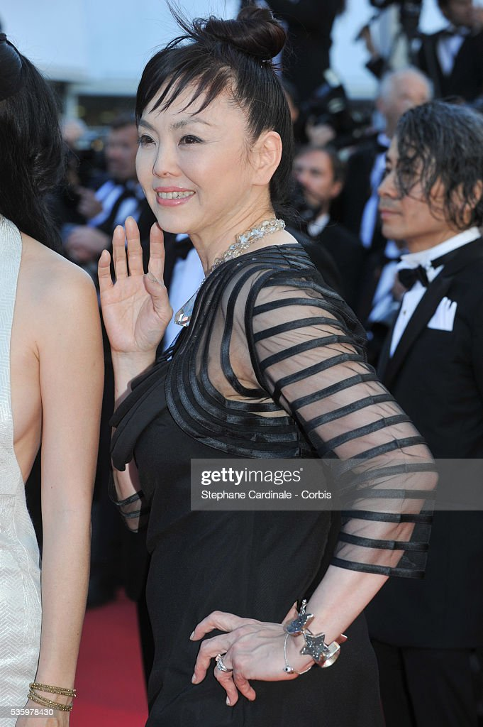 Miyuki Matsuda at the Closing ceremony and 'A Fistful of Dollars' screening during 67th Cannes Film Festival