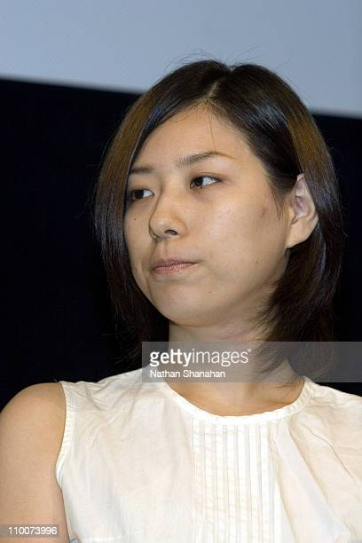 Miyuki Takahashi Author during The 14th Tokyo International Lesbian Gay Film Festival Closing Ceremony at Spiral Hall in Tokyo Japan