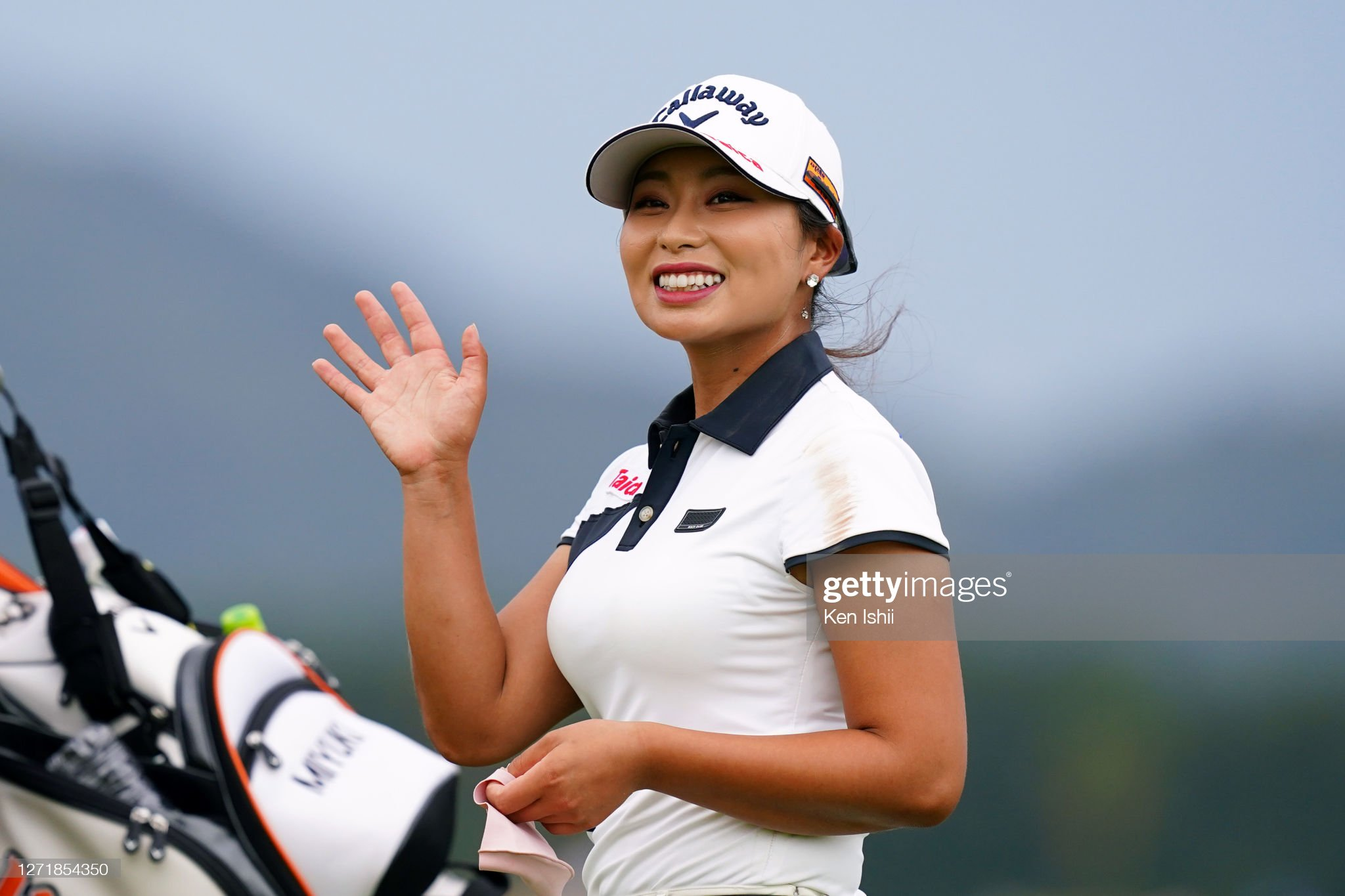 https://media.gettyimages.com/photos/miyuki-takeuchi-of-japan-waves-after-holing-out-on-the-9th-green-the-picture-id1271854350?s=2048x2048