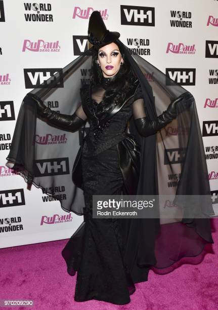 Miz Cracker attends VH1's RuPaul's Drag Race Season 10 Finale at The Theatre at Ace Hotel on June 8 2018 in Los Angeles California