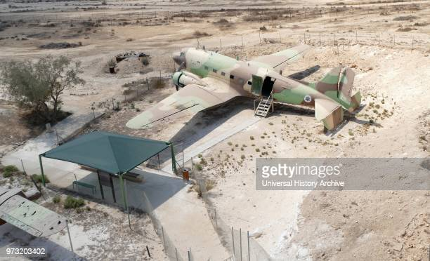 Mizpe Revivim Fortress. In kibbutz Revivim in the Negev desert. In southern Israel. The community was formed in 1943 as one of the three lookouts....