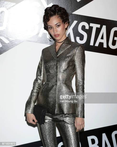 Mizuhara Kiko Dior Beauty Ambassador Asia attends the Dior Backstage launch party at EDIT on June 11 2018 in Seoul South Korea
