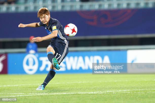 Mizuki Ichimaru of Japan clears the ball during the FIFA U20 World Cup Korea Republic 2017 group D match between Japan and Italy at Cheonan Baekseok...