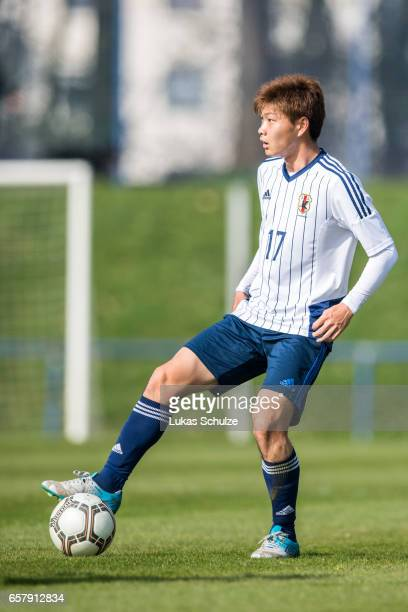 Mizuki Ichimaru of Japan in action during a Friendly Match between MSV Duisburg and the U20 Japan on March 26 2017 in Duisburg Germany