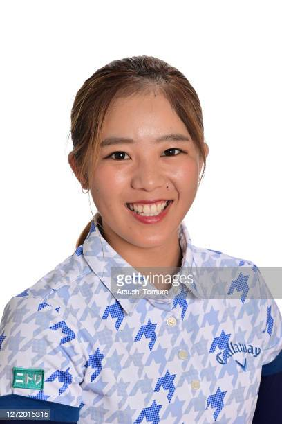 Mizuki Tanaka of Japan poses during the JLPGA portrait session on September 7 2020 in Kasaoka Okayama Japan