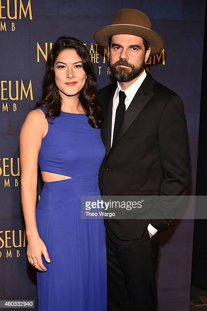 "Mizuo Peck attends the ""Night At The Museum: Secret Of The Tomb"" New York Premiere at Ziegfeld Theater on December 11, 2014 in New York City."