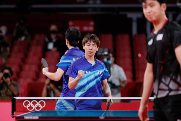 JPN: Table Tennis - Olympics: Day 14