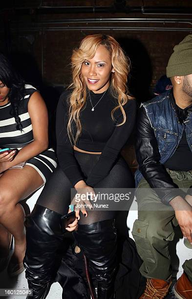 Mizz DR attends DJ Enuff's Celebrity Birthday Bash hosted by ASAP Rocky at Amnesia NYC on January 25 2013 in New York City