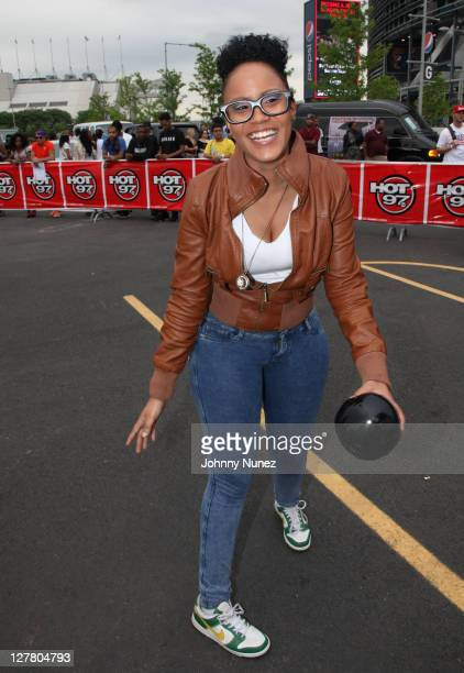 Mizz DR attends Hot 97 Summer Jam 2011 at the New Meadowlands Stadium on June 5 2011 in East Rutherford New Jersey