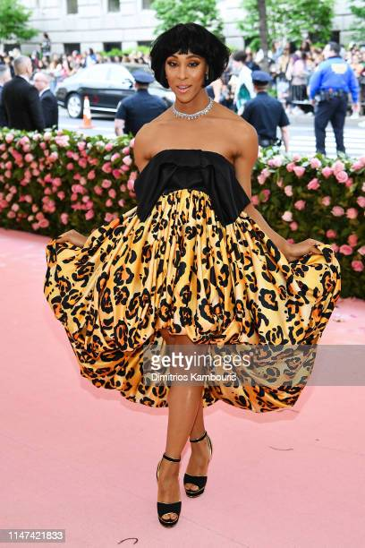 Mj Rodriguez attends The 2019 Met Gala Celebrating Camp Notes on Fashion at Metropolitan Museum of Art on May 06 2019 in New York City
