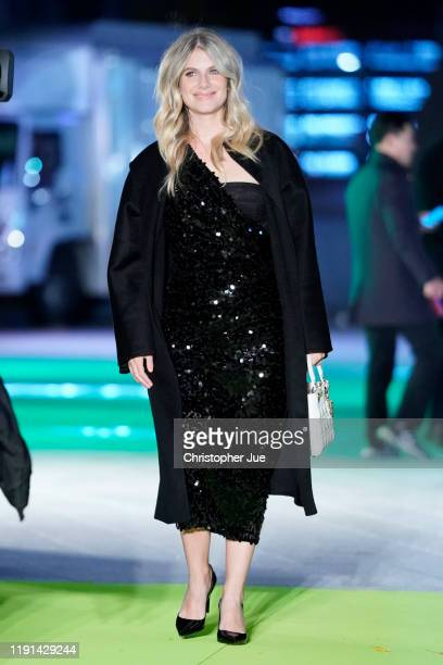 Mélanie Laurent attends the world premiere of Netflix's '6 Underground' at Dongdaemun Design Plaza on December 02, 2019 in Seoul, South Korea.