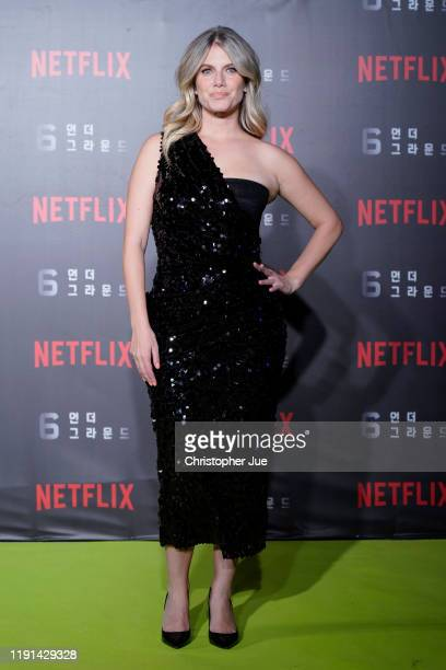 Mélanie Laurent attends the world premiere of Netflix's '6 Underground' at Dongdaemun Design Plaza on December 02 2019 in Seoul South Korea
