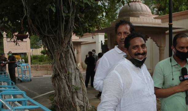 IND: Rajasthan Political Crisis: CM Ashok Gehlot Meets MLAs