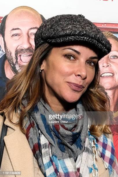 Mélissa Theuriau attends the Une Belle Equipe premiere at Cinema Elysees Biarritz on December 03 2019 in Paris France