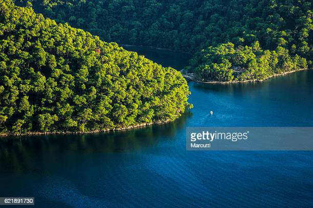 mljet national park - adriatic sea stock pictures, royalty-free photos & images