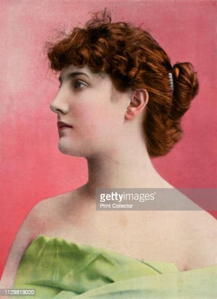 """'Mlle. Nelly Cormon, Du Theatre Du Gymnase', 1904. From """"Le Theatre - Jan-June 1904"""". [Le Theatre, Paris, 1904]. Artist Unknown."""