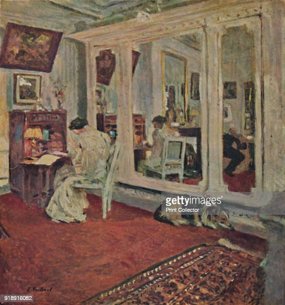 'Mme Hessel rue Rivoli ' c1902 From Vuillard His Life and Work by Claude Roer Marx [Paul Elek London 1946]Artist Edouard Vuillard