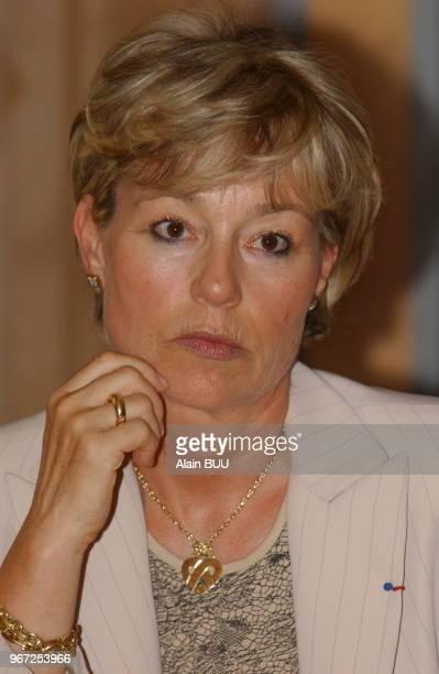 Mme Martine Monteil head of 36 quai des orfevres