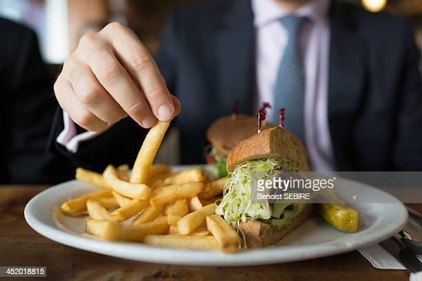 Mmmm fries!