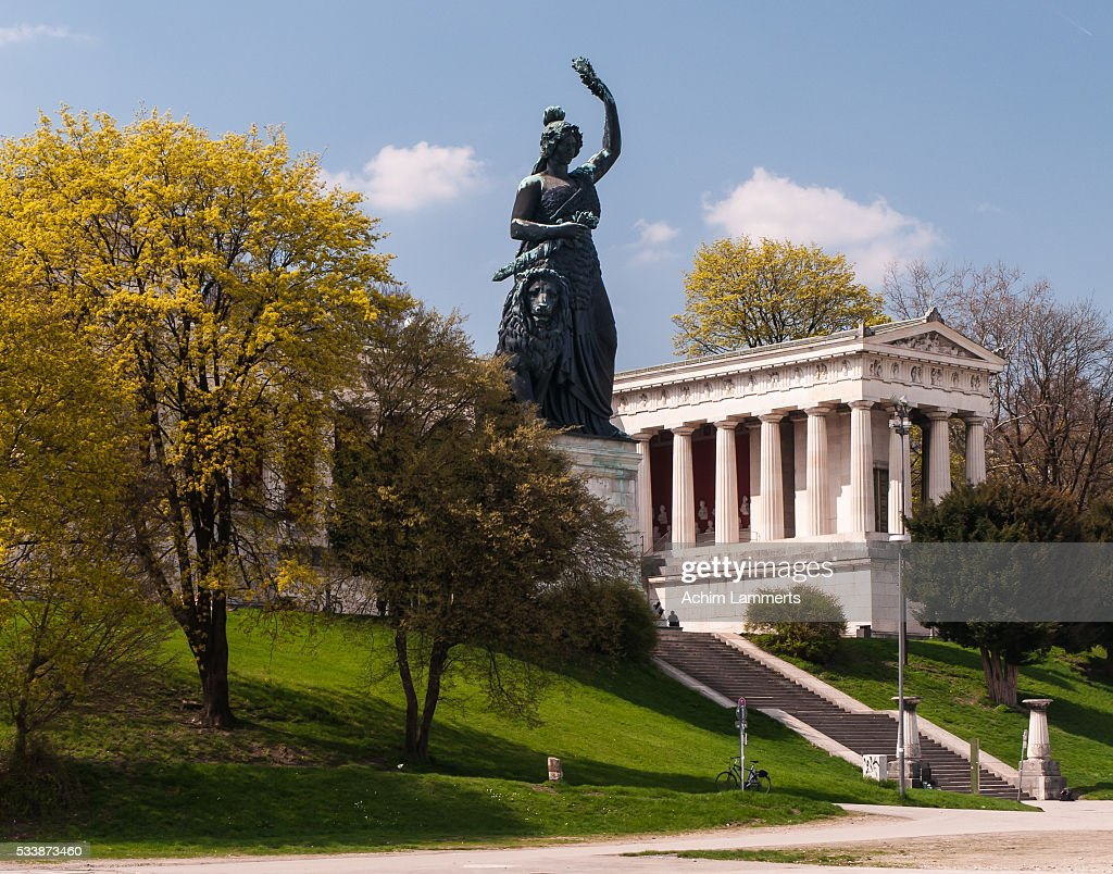 München - Bavaria statue - Wiesn : Stock-Foto